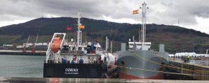 El buque Oizmendi realiza con éxito la carga de GNL STS