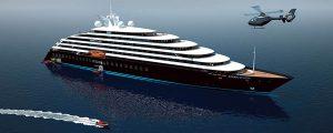 Botadura del crucero de lujo más sofisticado del mundo