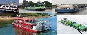 Barcos de navegación interior de propulsión LNG