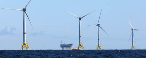 Proyecto Romeo en el parque eólico offshore Wikinger