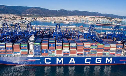 Puerto de Algeciras recibe su mayor portacontenedores