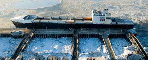 El con-ro North Star ya emplea GNL como combustible