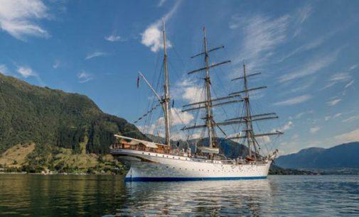 El buque escuela Statsraad Lehmkuhl de 103 años se adapta a los nuevos tiempos