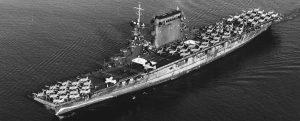 Hallan el pecio del segundo portaaviones estadounidense, el USS Lexington