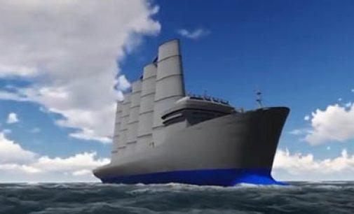 La vela rígida para el transporte marítimo gana premios a la innovación