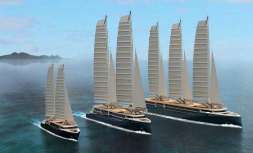 STX France presenta sus nuevos diseños de buques de crucero a vela