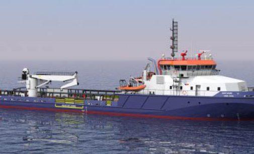 Nuevo diseño de clase hielo offshore