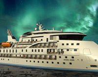 Corte de chapa para crucero de expedición polar en China