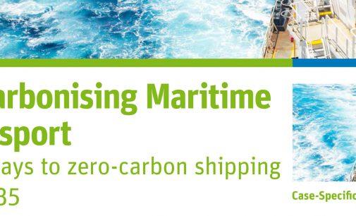 Un nuevo informe analiza la ruta hacia la descarbonización del transporte marítimo