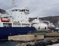 Realizan el mayor suministro de GNL a un buque en España