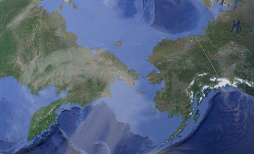 Nuevas rutas marítimas por el mar y el estrecho de Bering
