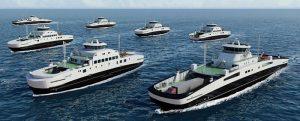 Fjord1 encarga siete nuevos ferries eléctricos