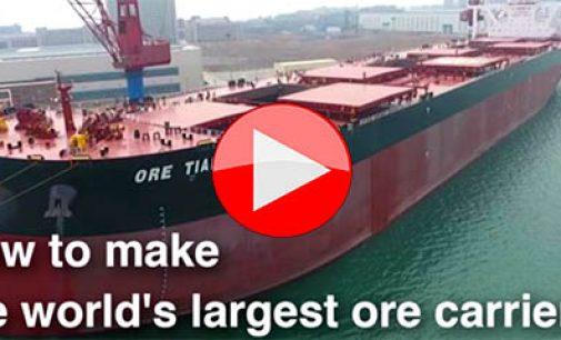 ¿Cómo se construye el mayor mineralero del mundo?
