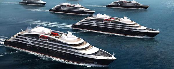 cruceros de expedición para Ponant