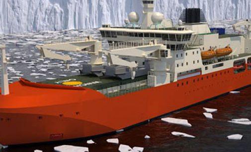 El nuevo rompehielos científico para la Antártida