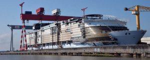 La presentación mundial del Symphony of the Seas tendrá lugar hoy en el puerto de Málaga
