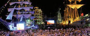 Velas Sudamérica 2018: encuentro de grandes veleros en Chile