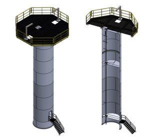 torres parques eólicos offshore entrenamiento