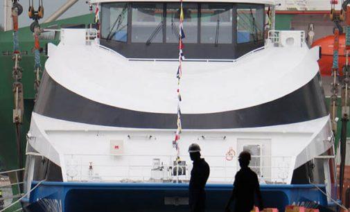 Damen bota el nuevo fast ferry para Angola