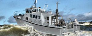 Nuevo buque hidrográfico HMS Magpie de la Royal Navy