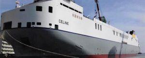 Bautizan el MV Celine, el ro-ro más grande del mundo