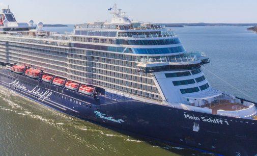 Meyer Turku entrega el buque de crucero Mein Schiff 1 a TUI Cruises