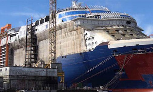 Avances en la construcción del crucero Celebrity Edge