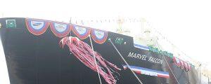Bautizado el LNG Marvel Falcon
