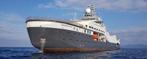 Fincantieri entrega el oceanográfico noruego Kronprins Haakon