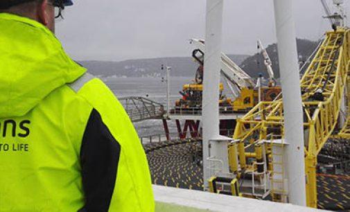 Avanza el tendido de cables del parque eólico offshore Beatrice