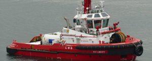 Bautizado el primer remolcador dual de Singapur