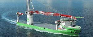 Puesta de quilla del buque de instalación offshore Orion