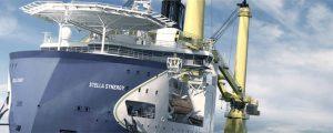 Jumbo bautiza su nuevo buque grúa heavylift
