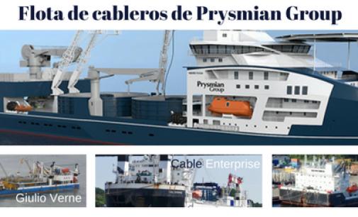 170 M€ vale el nuevo buque cablero de Prysmian
