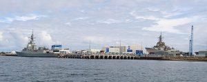 Navantia Australia bota el último destructor de la clase Hobart