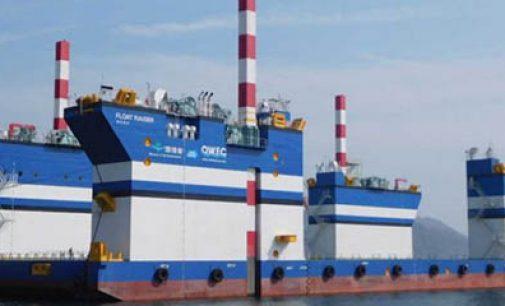 Buque de instalación de aerogeneradores flotantes