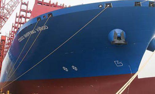 Entregado el portacontenedores de 20.000 teu Cosco Shipping Virgo