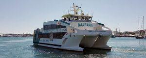 El eco fast ferry Eco Lux se incorpora a la ruta Eivissa-Formentera