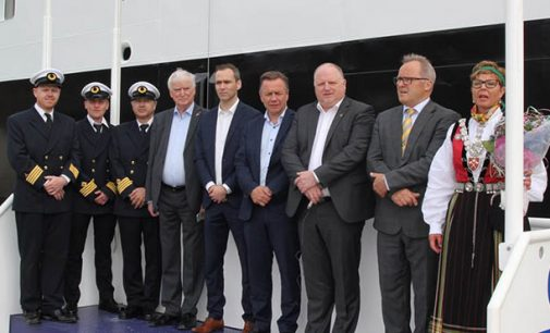 Primer ferry con el sistema Autocross
