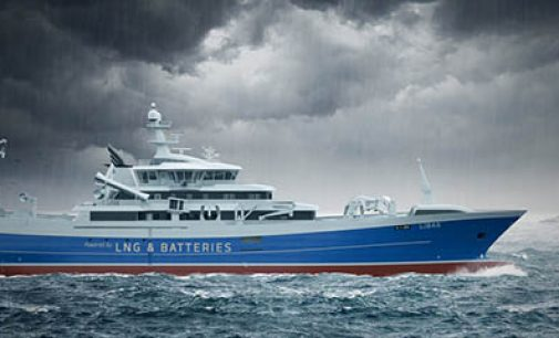 Primer pesquero con propulsión LNG híbrida