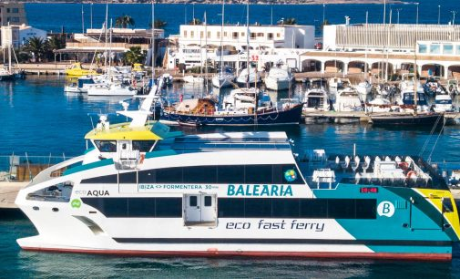 El catamarán Eco Aqua, de Gondán y Baleària, construcción naval más destacada de 2017