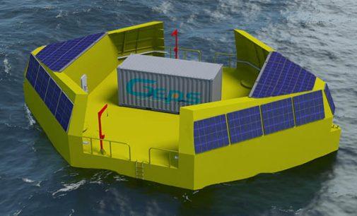 Prototipo de dispositivo undimotriz para el sector oil&gas
