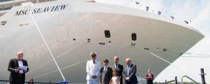Fincantieri entrega el MSC Seaview