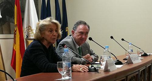 María Jesús Prieto-Laffargue y Luis Vilches Collado