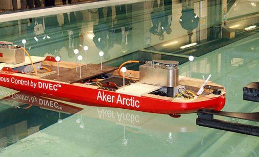 Éxito de las pruebas de canal de un buque autónomo