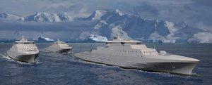 Los nuevos buques guardacostas de Noruega