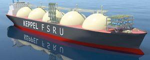 Primer buque de bunkering de LNG del sureste de Asia