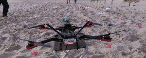 Drones para el control y gestión de la basura marina