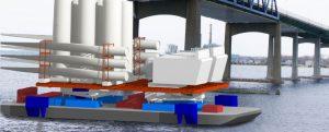 Servicio feeder para el sector eólico offshore de EE.UU.