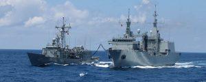 El BAC Cantabria de la Armada Española luce nuevo sistema de comunicaciones por satélite